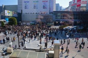 Shibuya Crossing, el cruze mas famoso de Japon
