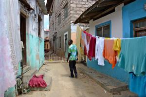 una de las calles de Lamu, y Pascal