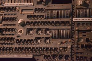 Panel de control de la capsula del Apollo 13