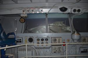 Reconstrucción del interior de una porta aviones